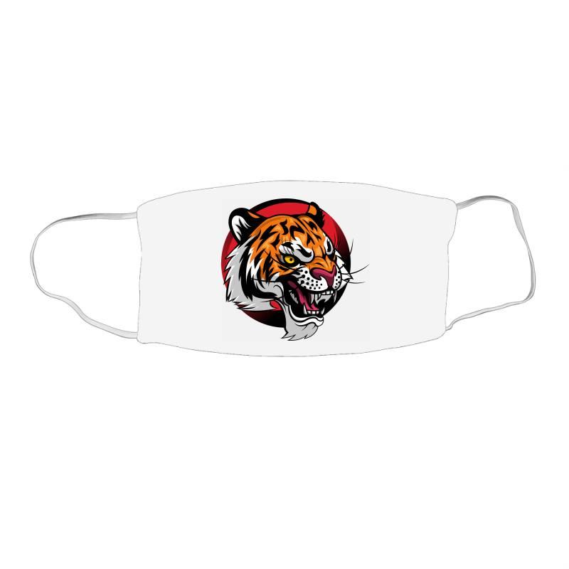 Tiger Face Mask Rectangle | Artistshot