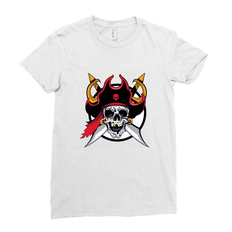 Pirates Ladies Fitted T-shirt | Artistshot