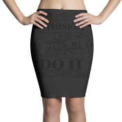Whiskey, party, water of life Pencil Skirts   Artistshot