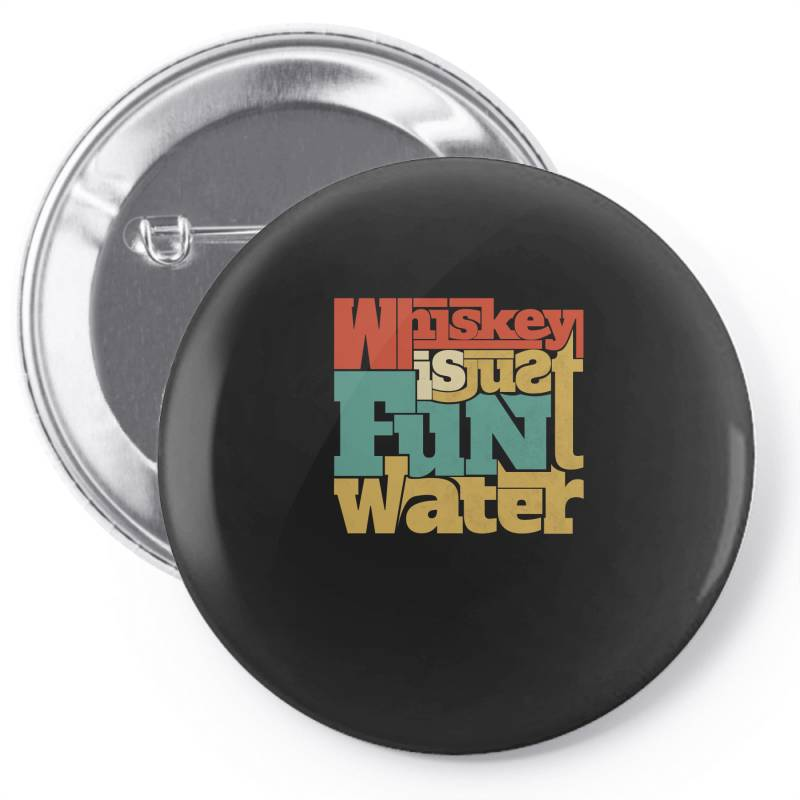 Whiskey, Single Malt, Blended Pin-back Button | Artistshot