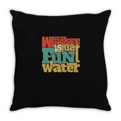 Whiskey, single malt, blended Throw Pillow | Artistshot