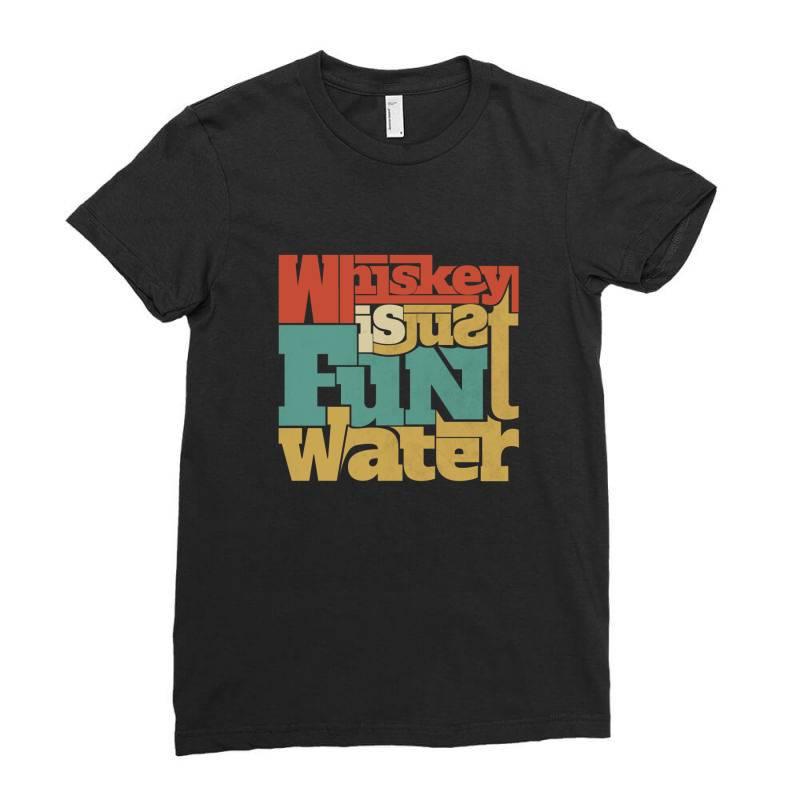 Whiskey, Single Malt, Blended Ladies Fitted T-shirt | Artistshot