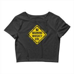Whiskey, Scotch, whiskey drinkers Crop Top | Artistshot