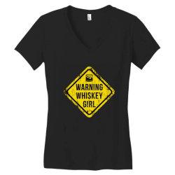 Whiskey, Scotch, whiskey drinkers Women's V-Neck T-Shirt | Artistshot