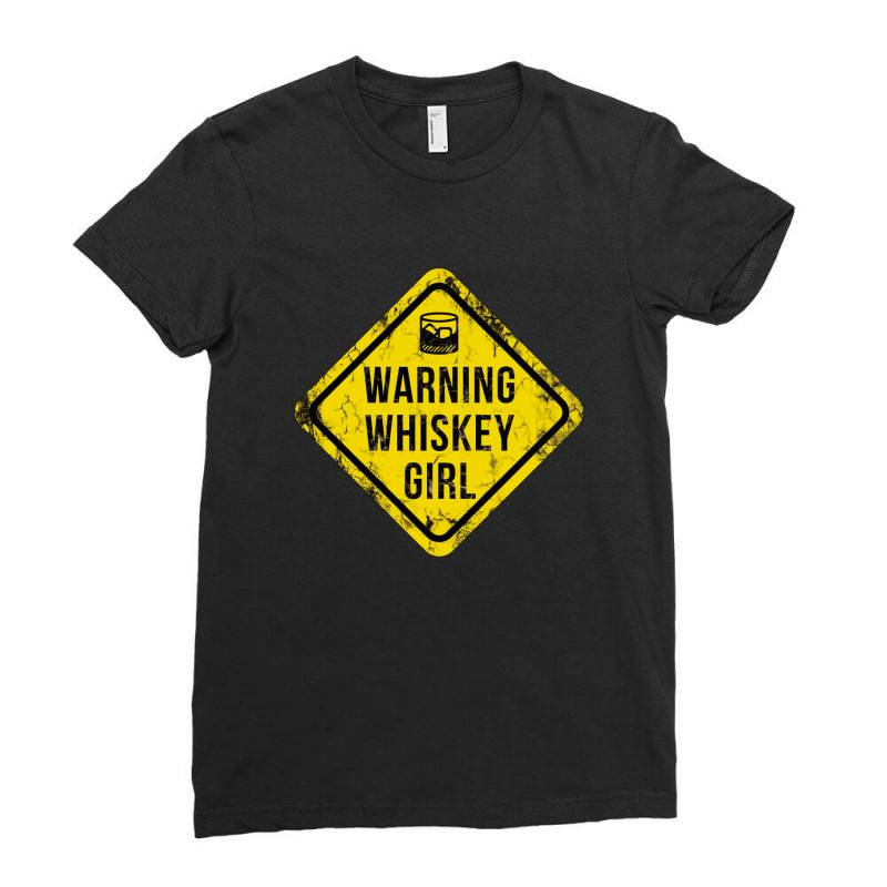 Whiskey, Scotch, Whiskey Drinkers Ladies Fitted T-shirt | Artistshot
