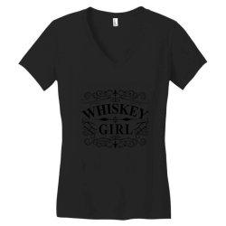 Whiskey, bourbon, whiskey collectors Women's V-Neck T-Shirt | Artistshot