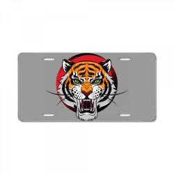Tiger License Plate | Artistshot