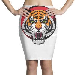 Tiger Pencil Skirts | Artistshot