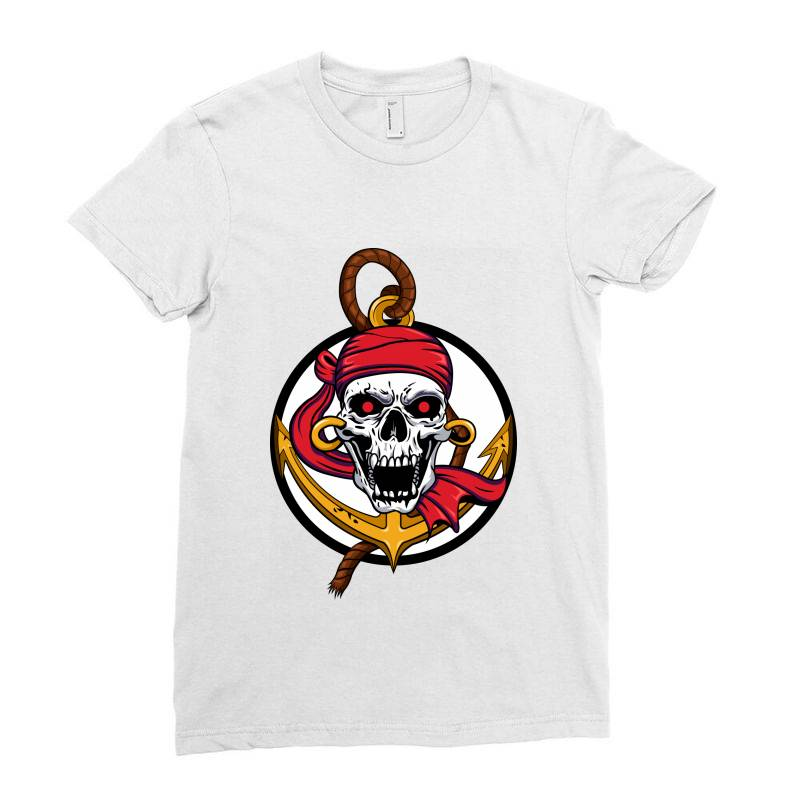 Pirates Ladies Fitted T-shirt | Artistshot