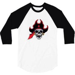 Pirates 3/4 Sleeve Shirt | Artistshot