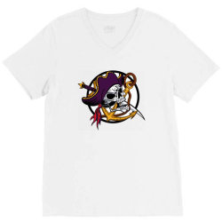 Pirates V-Neck Tee | Artistshot