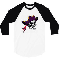 Pirates 3/4 Sleeve Shirt | Artistshot