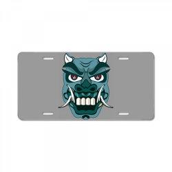 Mask License Plate | Artistshot