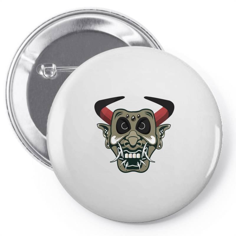 Mask Pin-back Button | Artistshot
