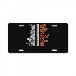 dream like martin License Plate | Artistshot