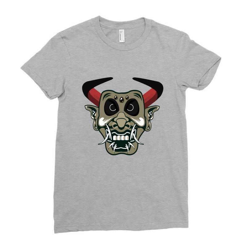 Mask Ladies Fitted T-shirt   Artistshot