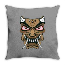 Mask Throw Pillow | Artistshot