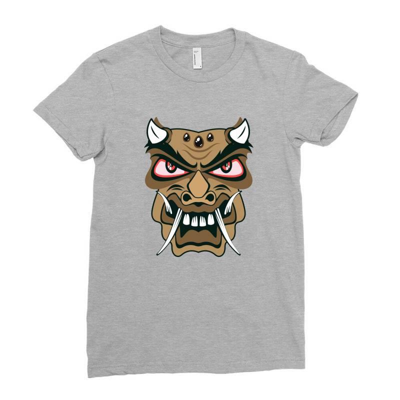 Mask Ladies Fitted T-shirt | Artistshot