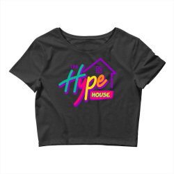 the hype house classic t shirt Crop Top | Artistshot