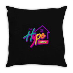the hype house classic t shirt Throw Pillow | Artistshot