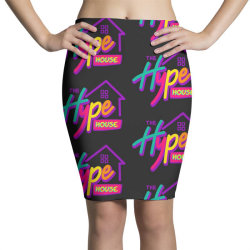 the hype house classic t shirt Pencil Skirts | Artistshot