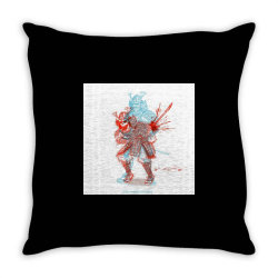 Skull man Throw Pillow | Artistshot