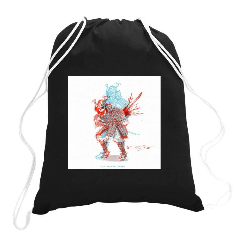 Skull Man Drawstring Bags   Artistshot