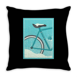 Cycle art Throw Pillow | Artistshot