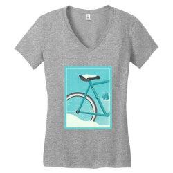 Cycle art Women's V-Neck T-Shirt   Artistshot