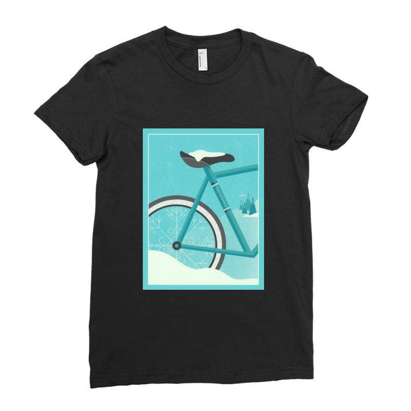 Cycle Art Ladies Fitted T-shirt   Artistshot