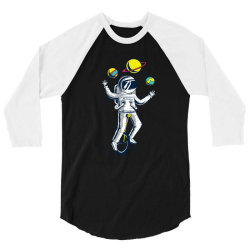 SPACE JUGGLER 3/4 Sleeve Shirt | Artistshot