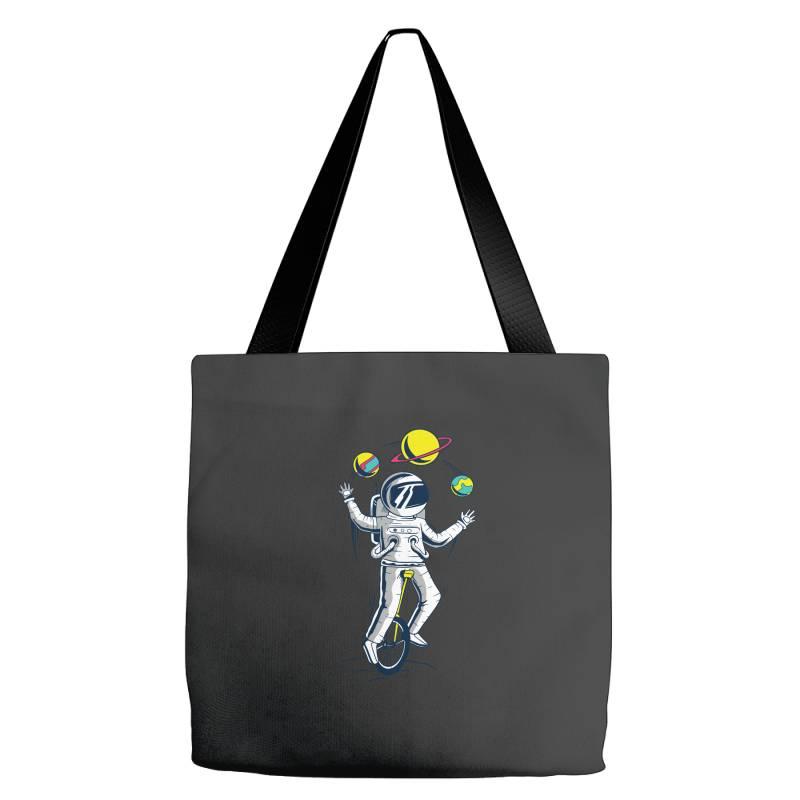 Space Juggler Tote Bags | Artistshot