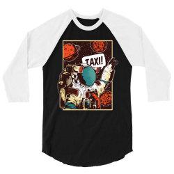 Space ride, taxi 3/4 Sleeve Shirt   Artistshot