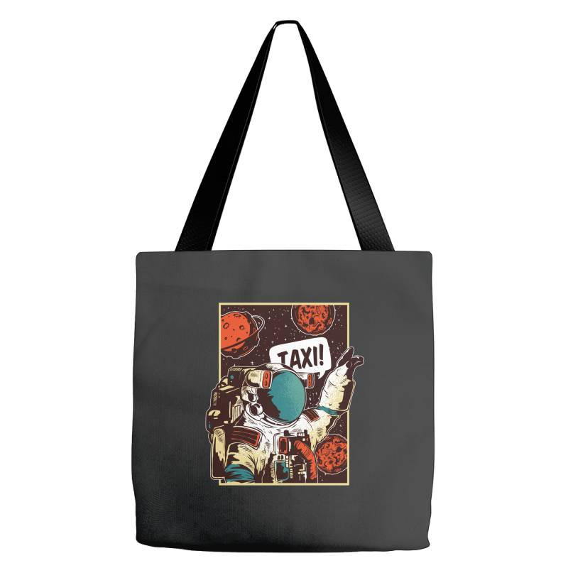 Space Ride, Taxi Tote Bags | Artistshot