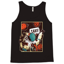 Space ride, taxi Tank Top   Artistshot