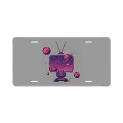 Space Tv License Plate   Artistshot
