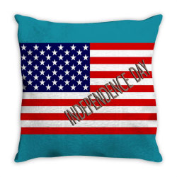 independence day Throw Pillow | Artistshot