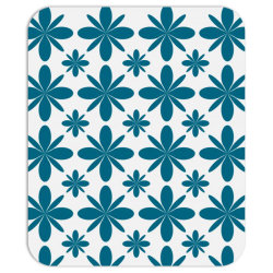 Blue flowers Mousepad | Artistshot