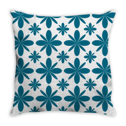 Blue flowers Throw Pillow | Artistshot