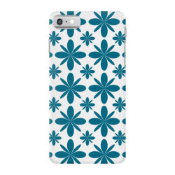 Blue flowers iPhone 7 Case | Artistshot