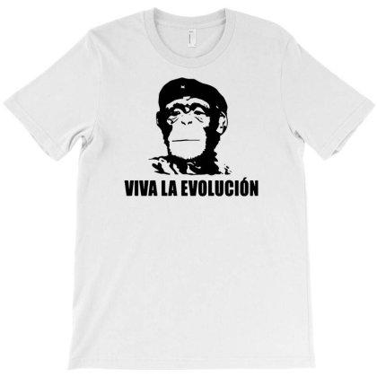 Viva La Evolucion T-shirt Designed By Funtee