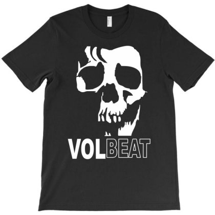 Volbeat Danish Rock Band Cool Skull T-shirt Designed By Funtee