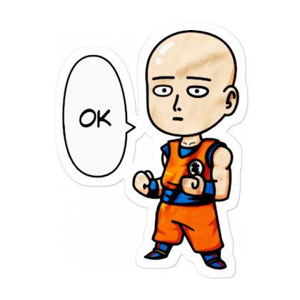 Dress Like Goku Sticker Designed By Pinkanzee