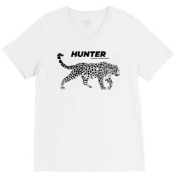 leopard hunter wear V-Neck Tee | Artistshot