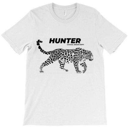 Leopard Hunter Wear T-shirt Designed By Designisfun