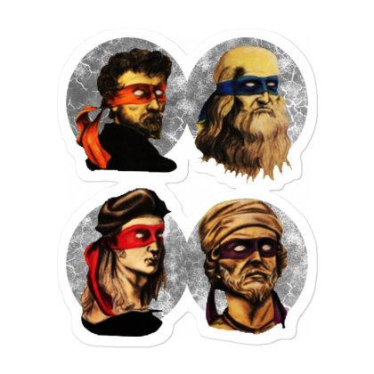Ninja Artists Sticker Designed By Pinkanzee