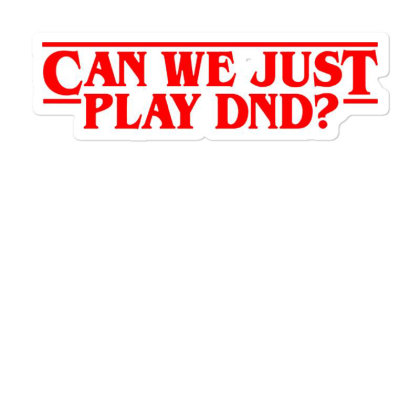 Can We Just Sticker Designed By Pinkanzee