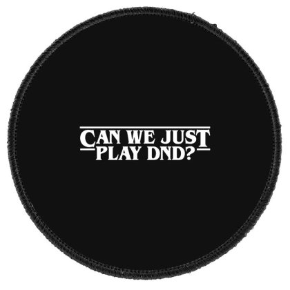 Can We Just Round Patch Designed By Pinkanzee