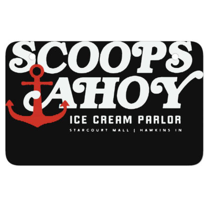 Scoops Ahoy Atv License Plate Designed By Pinkanzee