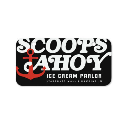 Scoops Ahoy Bicycle License Plate Designed By Pinkanzee